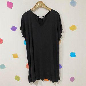 Sz PS Diane von Furstenberg // Black Slip Dress